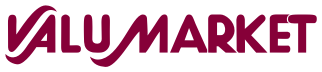 A logo of Valumarket
